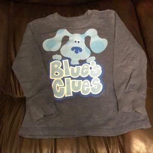 Blues Clues LS shirt 5T